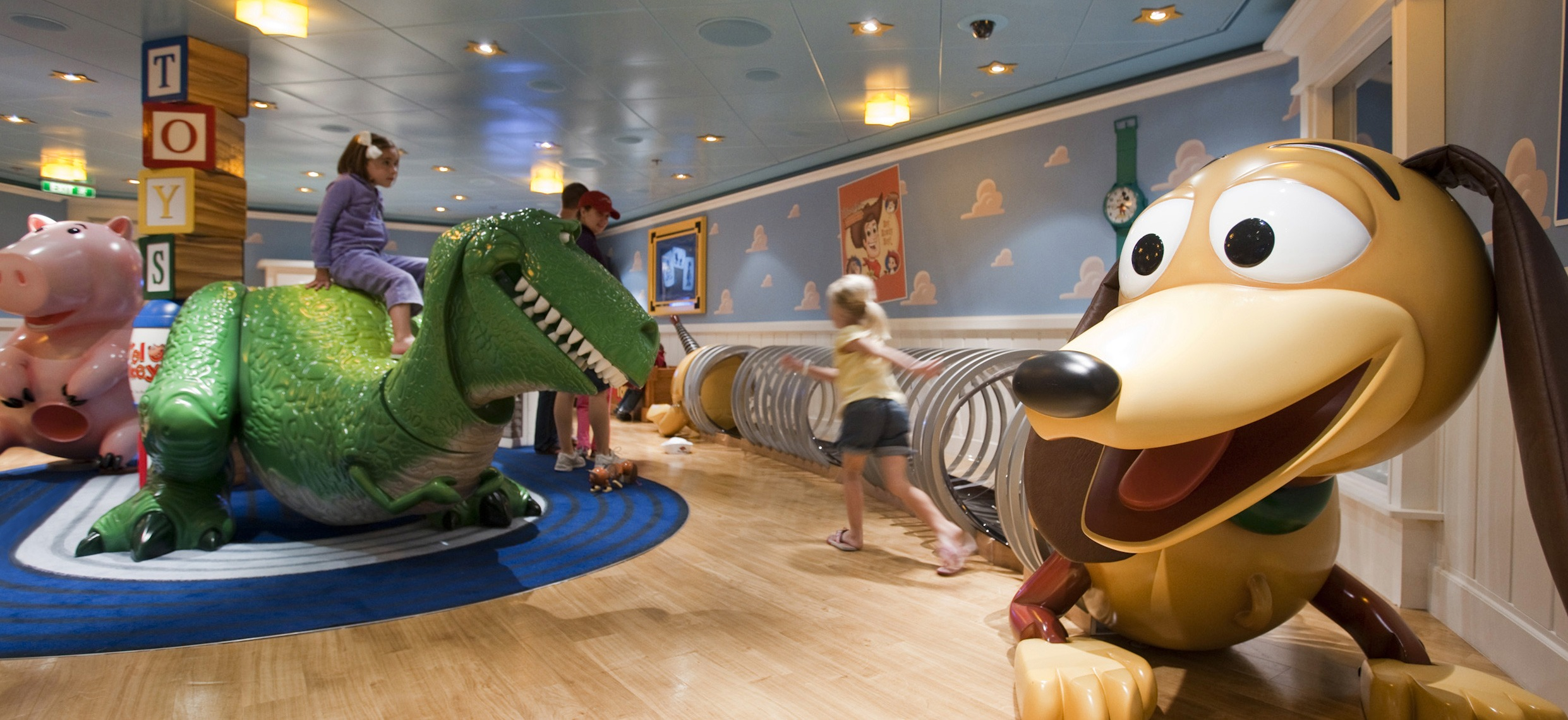 Disney Cruise Game Room