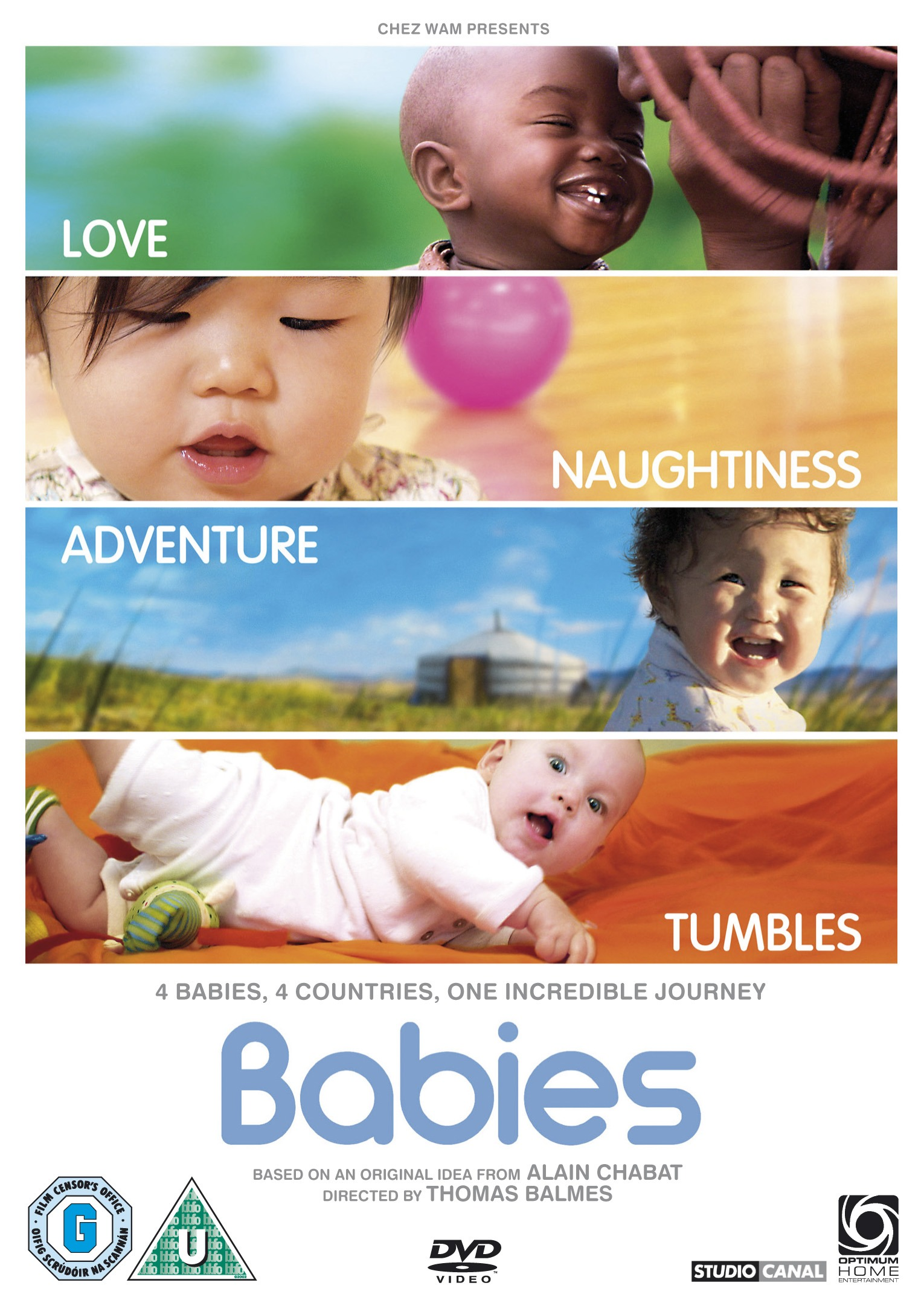 Babies: this year's most uplifting movie