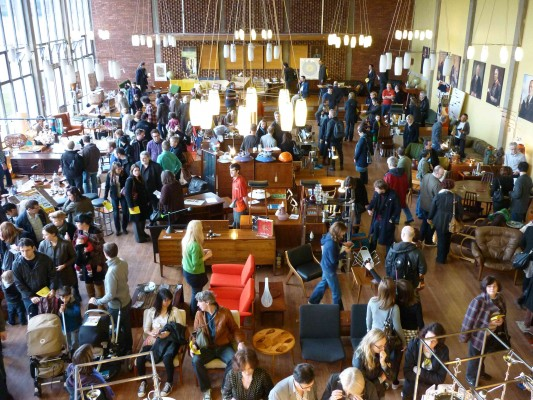Midcentury Modern fair in Dulwich