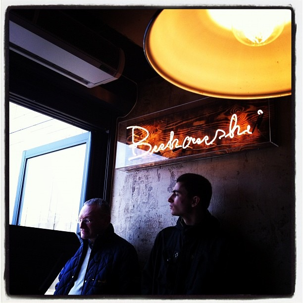 Bukowski burgers, Shoreditch, London