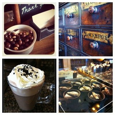 Choc apothecary collage