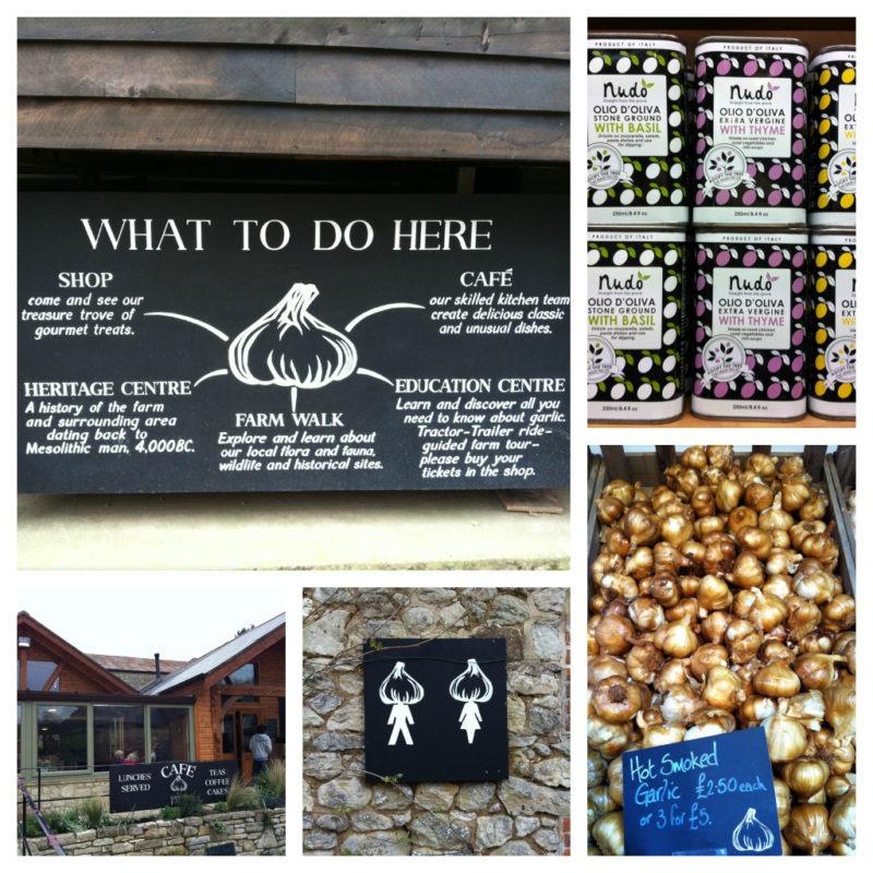 Garlic Farm collage