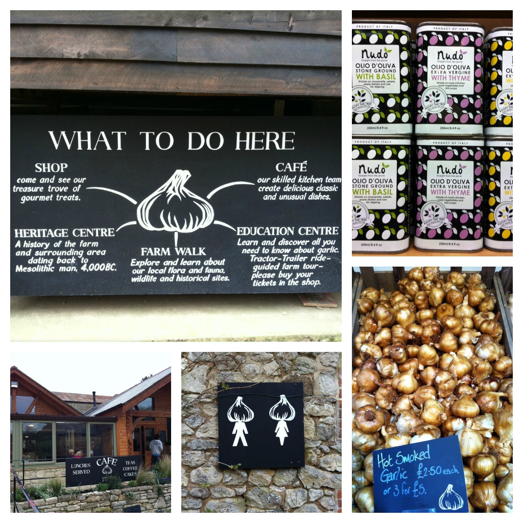 Garlic Farm collage