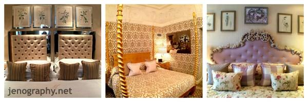 sumptuous beds, Milestone Hotel