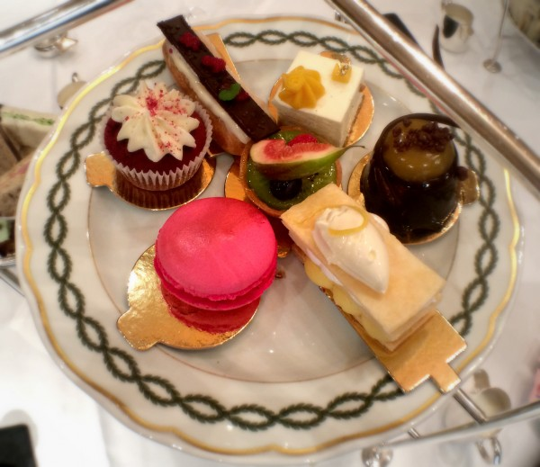 afternoon tea cakes, Milestone Hotel