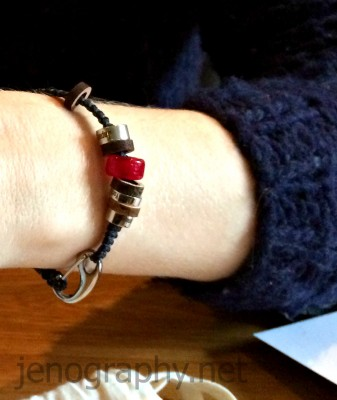 El Camino bracelet Jenography
