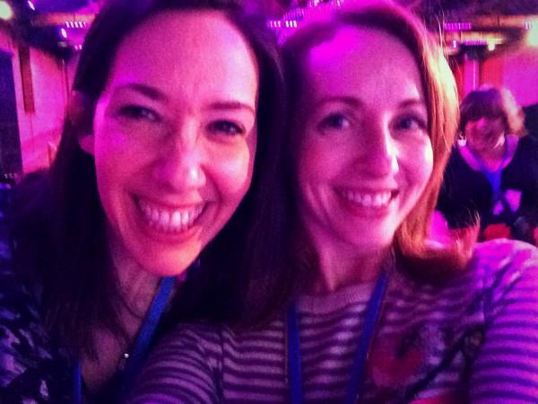 with Sarah Ebner