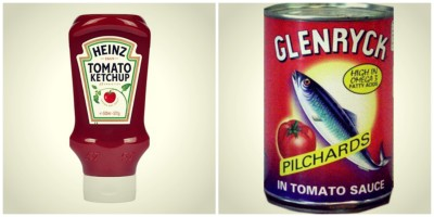 red sea sandwich ketchup pilchards