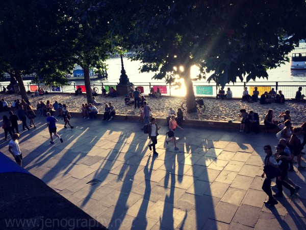 urban beach, Southbank