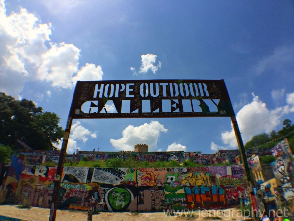 Hope Outdoor Gallery Austin Texas
