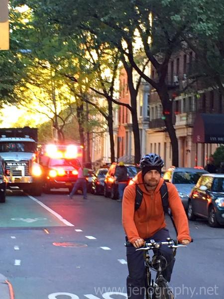 Ambulance in Brooklyn Heights