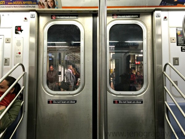 New York City subway by Jenography.net