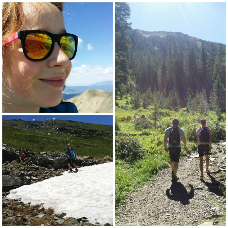 Climbing Wheeler Peak with kids Jenography