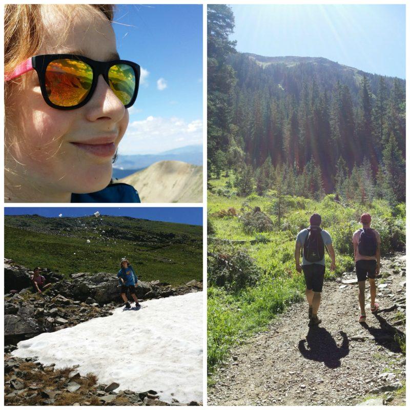 Climbing Wheeler Peak with kids Jenography