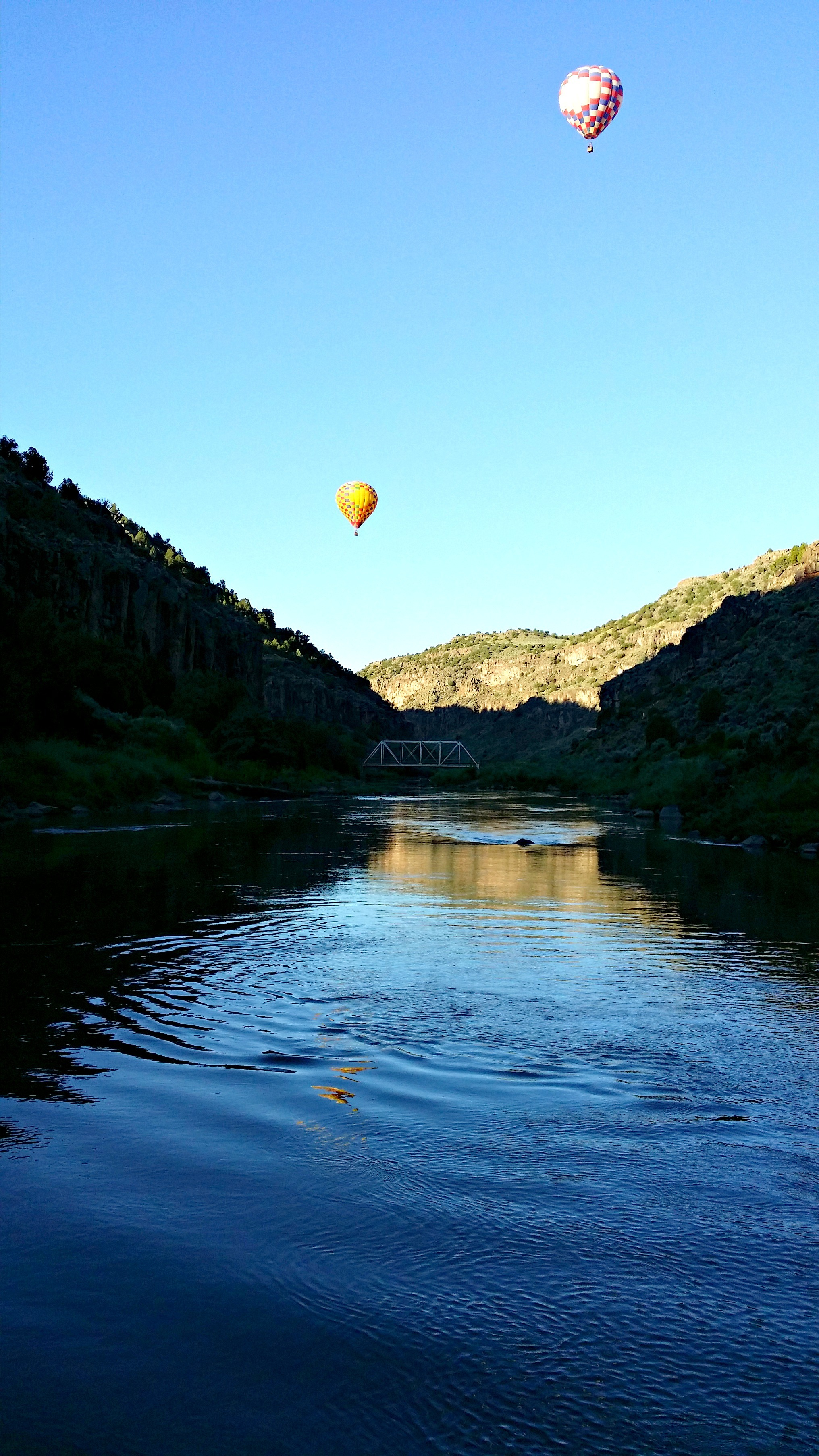 Hot-air ballooning in Taos - Jenography