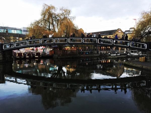 Bridge to Camden Lock market by jenography.net