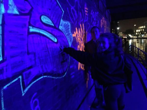 Grafitti in Camden Lock