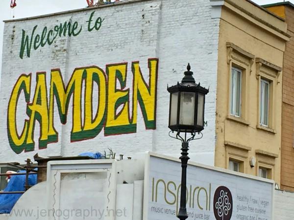 Welcome to Camden grafitti