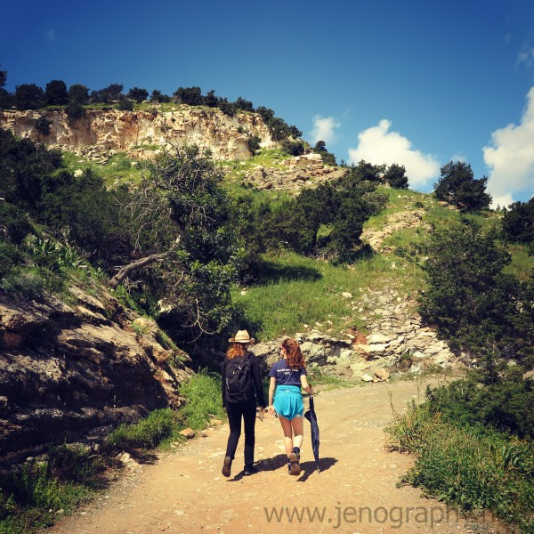 Aphrodite walk, Cyprus on Jenography