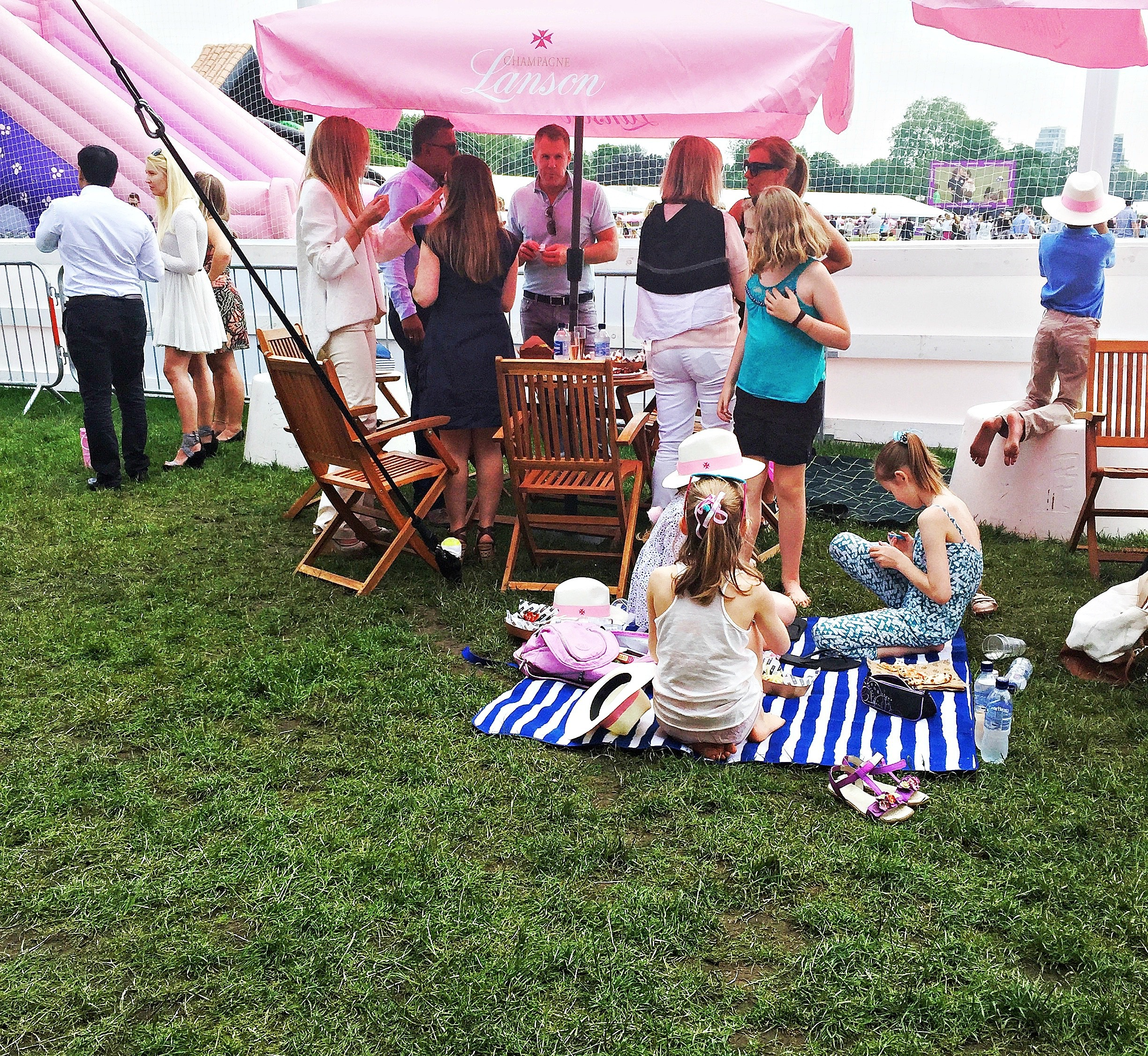 picnicking at Polo in the Park crop