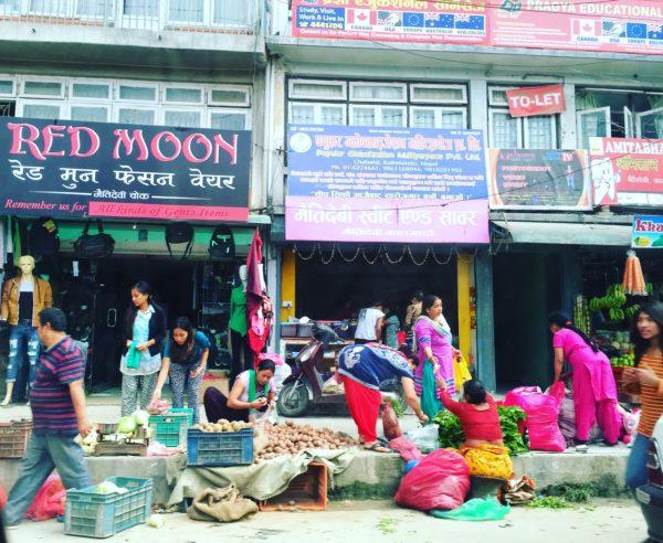 Nepal street scene