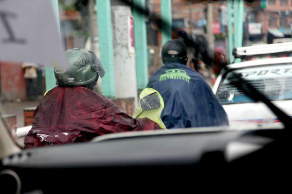 scooter in Kathmandu