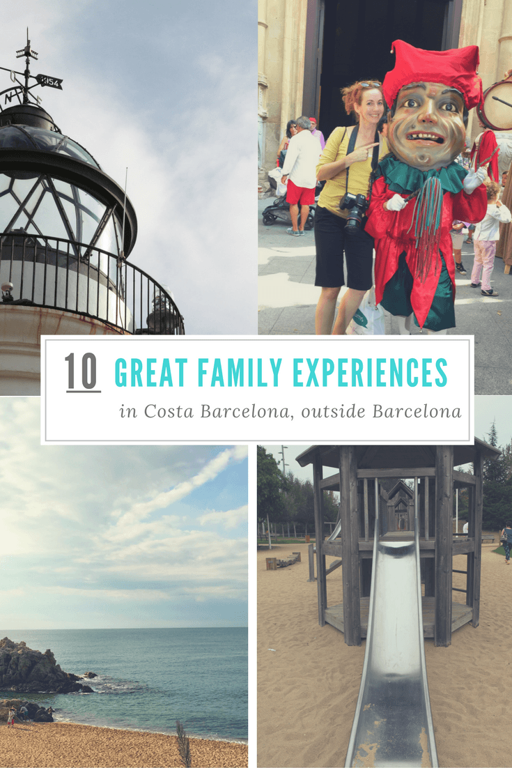 10 great family experiences in Costa Barcelona