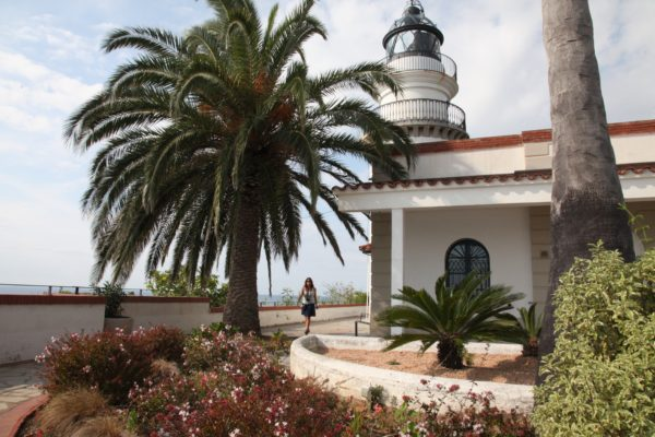 Calella lighthouse on Jenography
