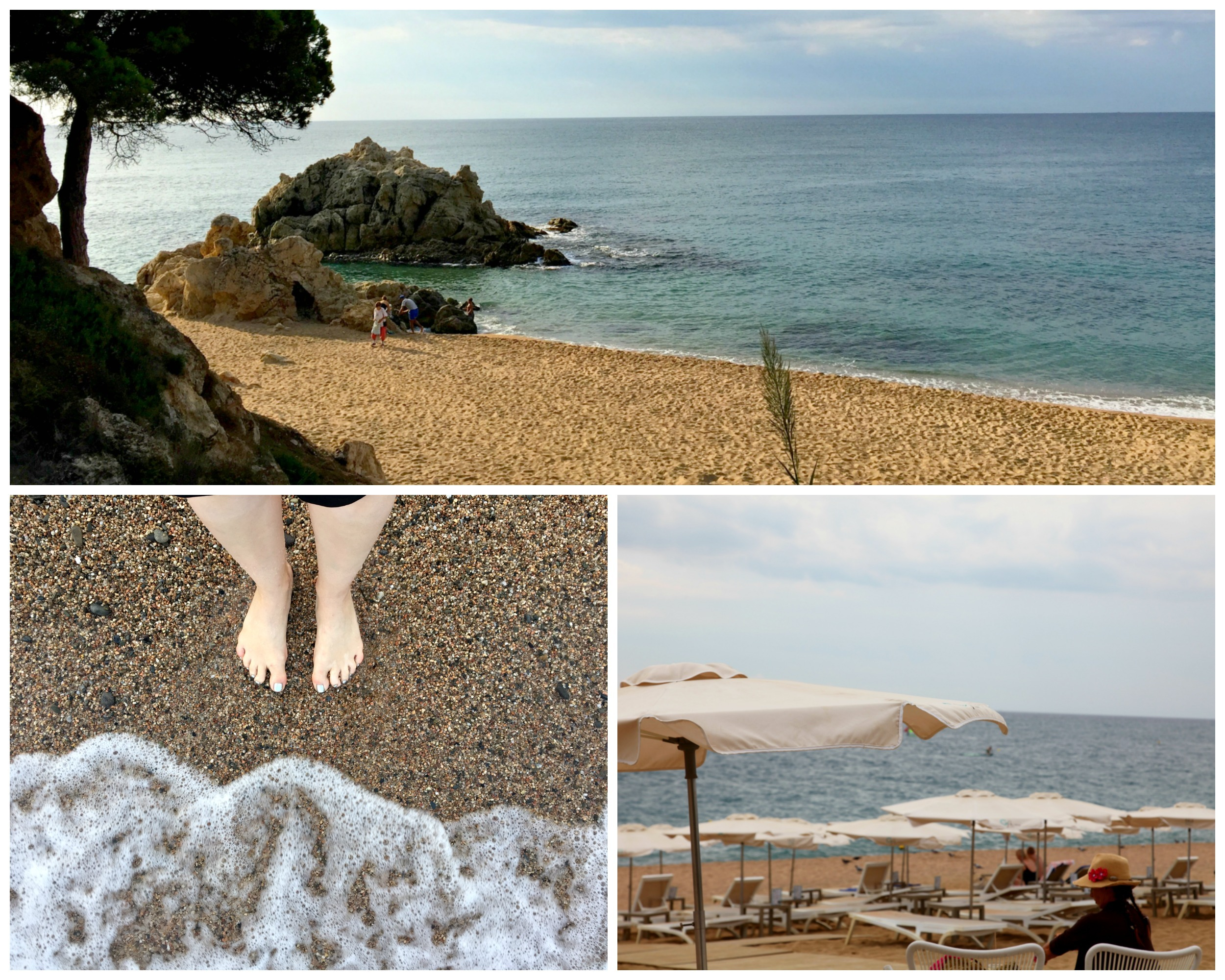 Costa Barcelona beaches