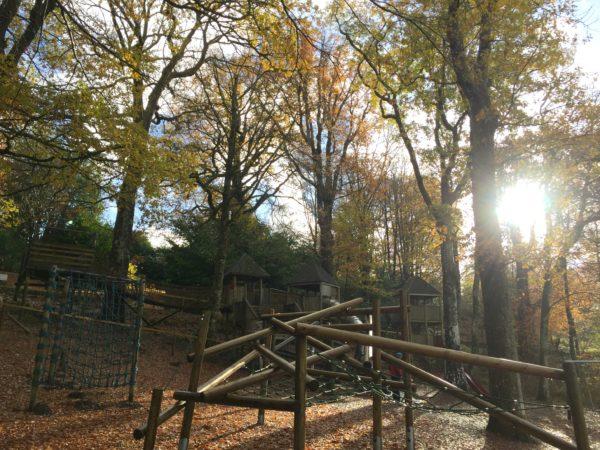Adventure Playground at Brockhole, next to Treetop Nets