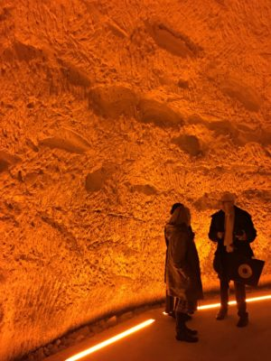 One of the chalk caves at Veuve Clicquot - Jenography