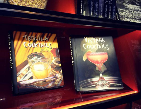 cocktail books at Maison Assouline