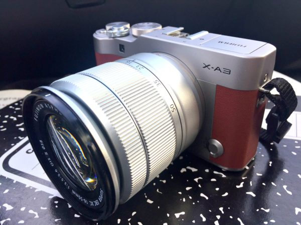 The Fujifilm X-A3 review on Jenography