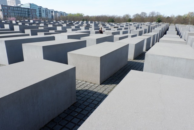 sunny picture of Memorial to Murdered Jews of Europe - Jenography