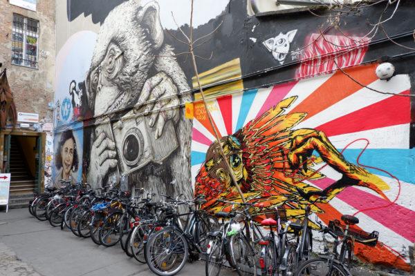 Berlin street art on Jenography