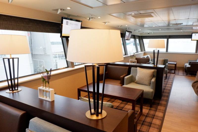 Red Funnel Ferry Signature Lounge