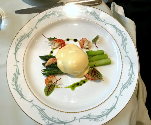asparagus at Savoy Hotel - Jenography