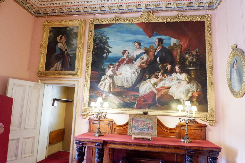 Family portrait is Osborne House