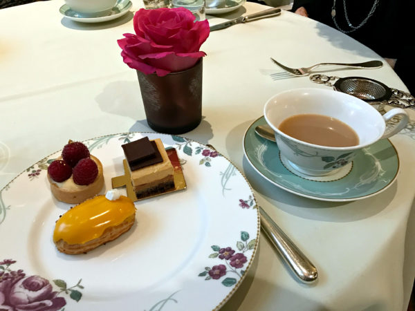 sweets at the Savoy