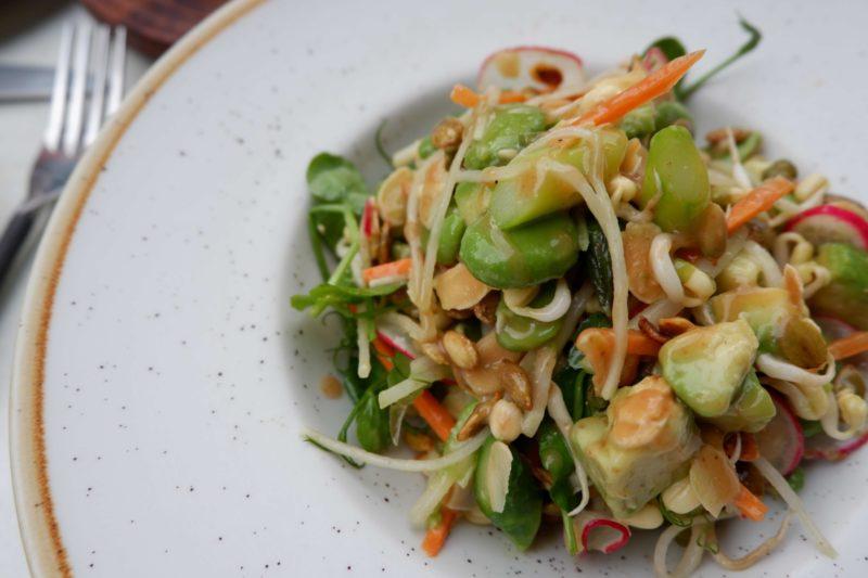 salad at Bistro Vadouvan