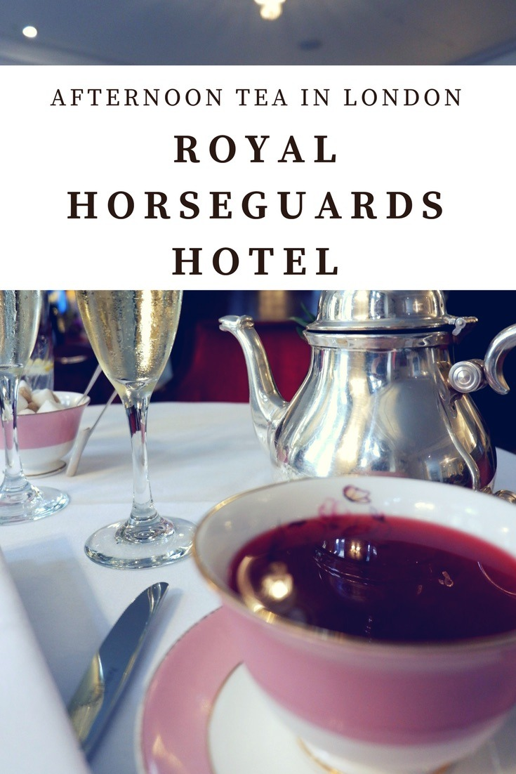 Royal Horseguards Hotel for tea - jenography