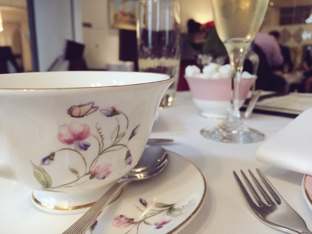 teacup at Royal Horseguards Hotel