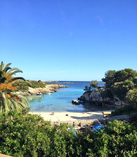Menorcan beach
