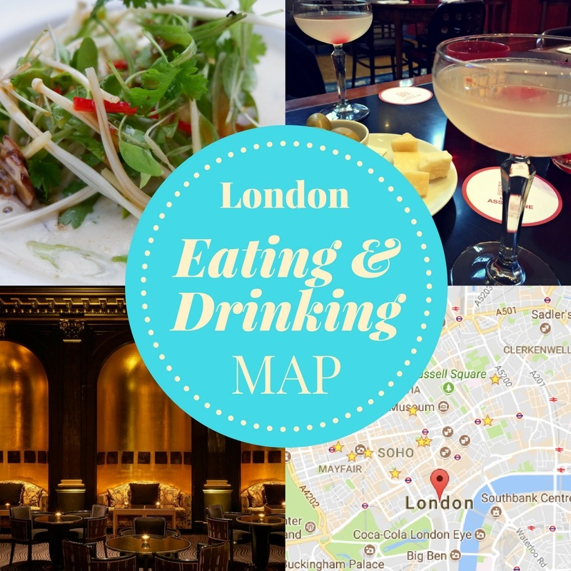 Jenography - London Eating & Drinking Map