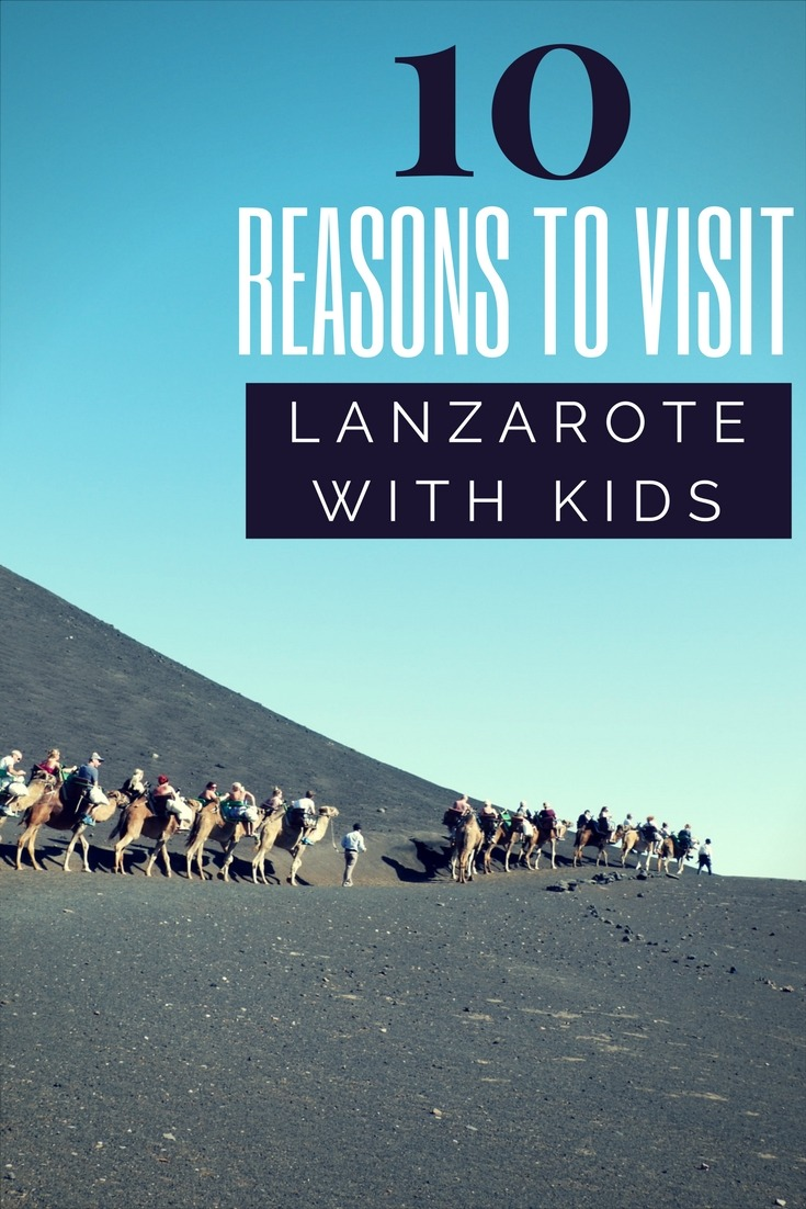 Top 10 things to do in Lanzarote with kids