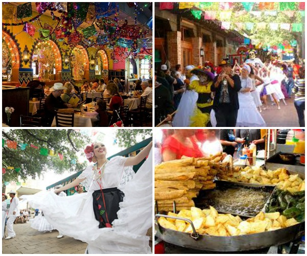 El Mercado collage San Antonio - jenography