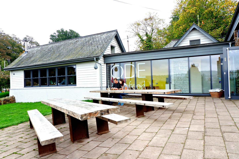 Cafe ODE in Shaldon on Jenography
