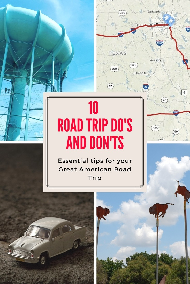 Do's and Don'ts for Great American Road Trip
